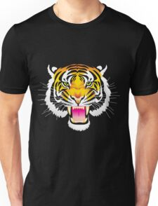 Angry Tiger Unisex T-Shirt