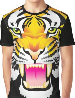 Angry Tiger Graphic T-Shirt