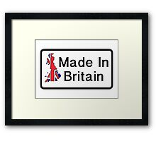 Made In Britain - The IT Crowd Framed Print