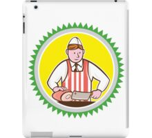 Butcher Chopping Ham Rosette Cartoon iPad Case/Skin