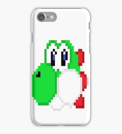 Custom Yoshi Pixel Design iPhone Case/Skin