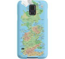 Westeros Locations Map Samsung Galaxy Case/Skin