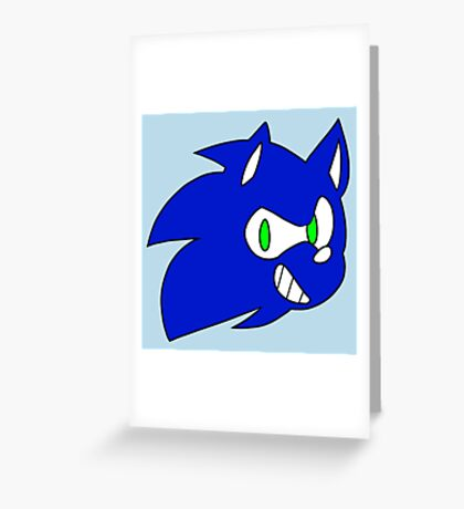 SONIC ! Greeting Card