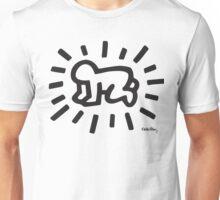 Keith Haring Baby B&W Unisex T-Shirt