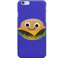 Burgie the Floating Burger iPhone Case/Skin