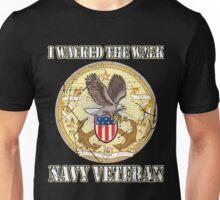I Walked The Walk Navy Veteran Unisex T-Shirt