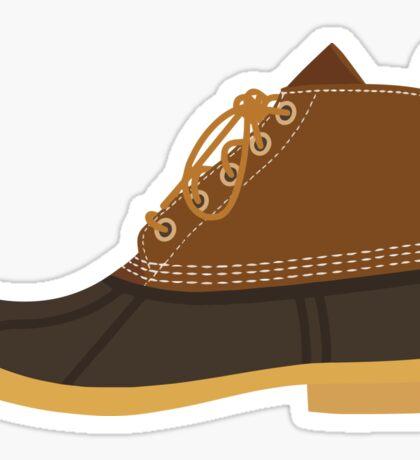 Bean Boots Sticker