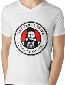 THE NEZ PERCE Mens V-Neck T-Shirt