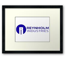 Reynholm Industries - The IT Crowd Framed Print