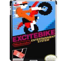 excitebike retro nes gamer shirt iPad Case/Skin