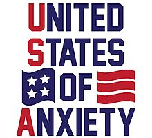 United States Of Anxiety Photographic Print