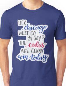 Hey Chicago - Go Cubs Go Unisex T-Shirt
