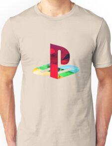 Playstation Logo Vaporwave Unisex T-Shirt