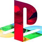 Playstation Logo Vaporwave by brycice