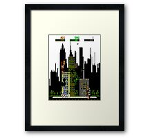 Rampage Retro NES Gamer Shirt Framed Print