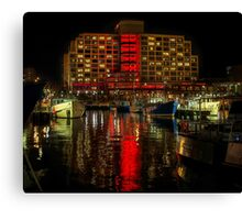 Dark Mofo, Painting the town Red Canvas Print