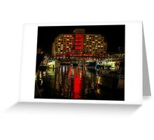 Dark Mofo, Painting the town Red Greeting Card