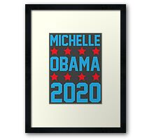 Michelle Obama 2020 Framed Print