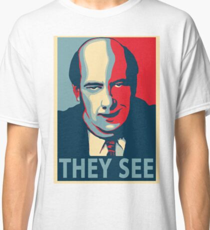 Kevin Malone Presidential Poster Classic T-Shirt