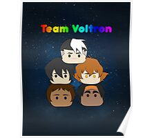 TEAM VOLTRON Poster
