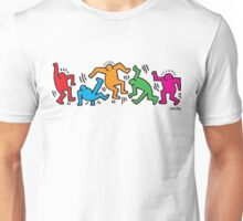 Keith Haring Dancing Unisex T-Shirt