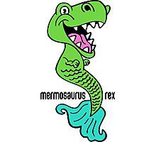 Mermosaurus Rex Photographic Print