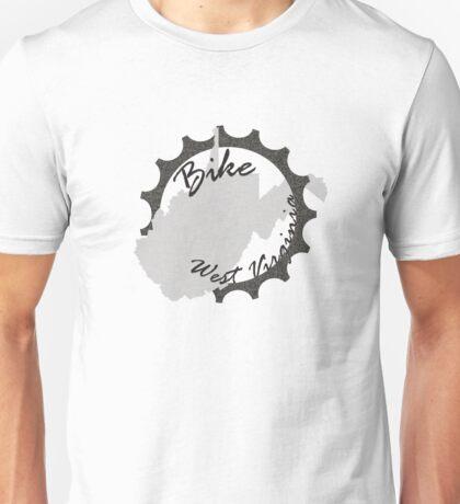 Bike West Virginia State Unisex T-Shirt