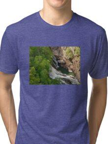Waterfall - Tallulah Gorge Tri-blend T-Shirt