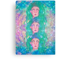 Triple Vision Canvas Print