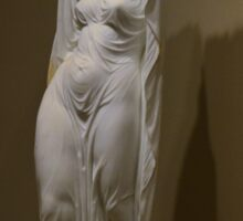 Undine Receiving Her Soul - Chauncey Bradley Ives Sticker