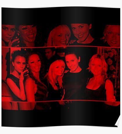 Spice Girls - Celebrity (Square) Poster