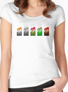 Dutch Tulips part 9 Women's Fitted Scoop T-Shirt