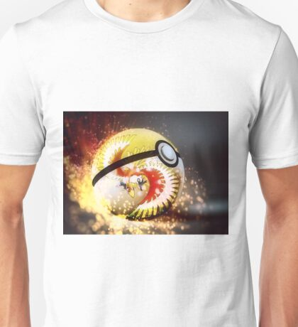 Ho Oh Pokeball Unisex T-Shirt
