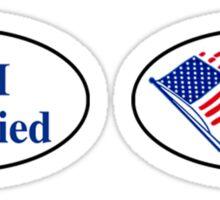 I Tried (I Voted Sticker Parody) Sticker