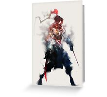 Shadowmist Assassin Greeting Card