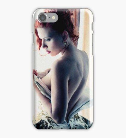 Scarlett Johansson - Film Grain iPhone Case/Skin