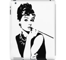 Audrey Hepburn - an icon iPad Case/Skin
