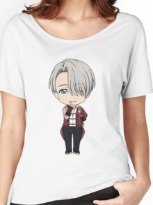 Yuri!!! on Ice Chibi Viktor Women's Relaxed Fit T-Shirt