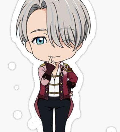Yuri!!! on Ice Chibi Viktor Sticker