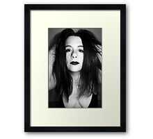 The beauty of freedom Framed Print