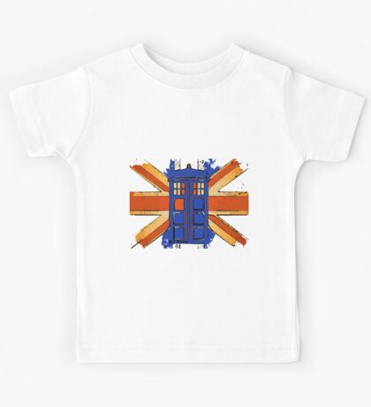 Dr Who - The Tardis - Vintage Jack Kids Tee