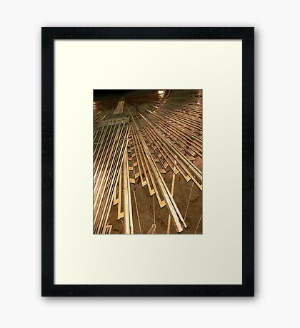 Empire State Rays Framed Print