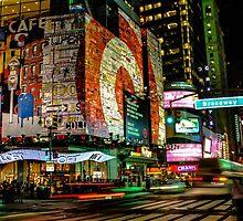 Broadway Lights by AlexFHiemstra