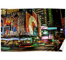 Broadway Lights Poster