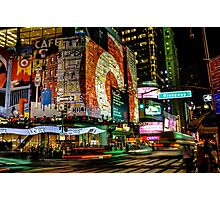 Broadway Lights Photographic Print