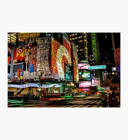 Broadway Lights Photographic Print