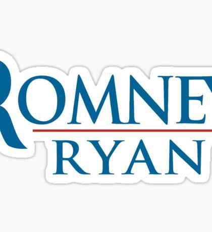 A Mitt Romney Sticker