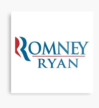 A Mitt Romney Metal Print
