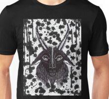 BLACK SPLATTER GOAT Unisex T-Shirt