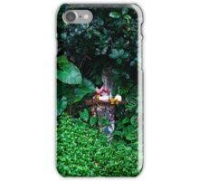 Asian background with spirit house iPhone Case/Skin